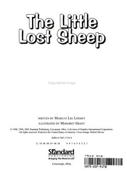 The Little Lost Sheep PDF