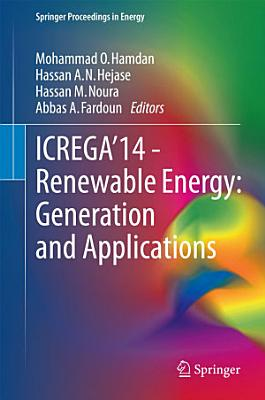 ICREGA   14   Renewable Energy  Generation and Applications PDF