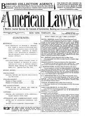 The American Lawyer: Volume 2