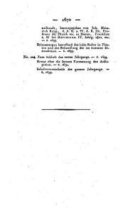 Askläpieion. Allgemeines medicinisch-chirurgisches Wochenblatt. Hrsg. von K. Wolfart: Band 4