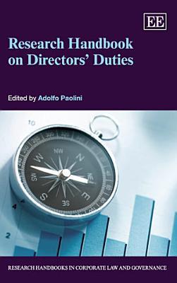 Research Handbook on Directors� Duties