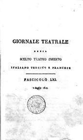 Scelto teatro inedito italiano tedesco e francese. Vol. 1. -?: Volume 1;Volume 32