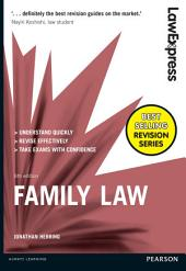 Law Express: Family Law: Edition 6
