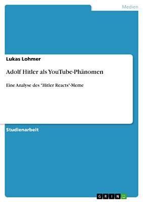 Adolf Hitler als YouTube Ph  nomen PDF