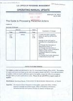 The Guide to Processing Personnel Actions
