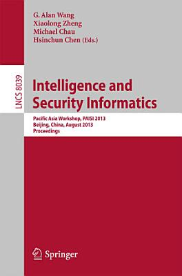 Intelligence and Security Informatics PDF