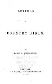 Letters to Country Girls