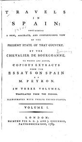 Travels in Spain: containing a new, accurate, and comprehensive view of the present state of that country, Volume 1