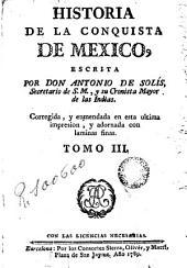 Historia de la conquista de Mexico, 3