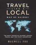 Travel Like a Local - Map of Nairobi