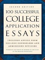 100 Successful College Application Essays  Second Edition  PDF