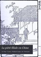 La piété filiale en Chine