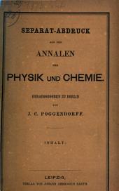 Physikalische Abhandlungen: Meistens Abdrücke aus Poggendorfs Annalen, Band 26