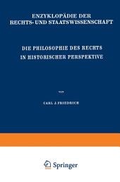 Die Philosophie des Rechts in Historischer Perspektive