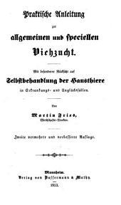 Handbuch der praktischen Landwirthschaft: Band 2