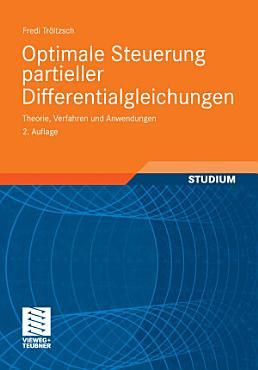 Optimale Steuerung partieller Differentialgleichungen PDF