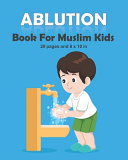 Ablution Book For Muslim Kids