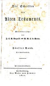 Die Schriften des Alten Testaments: Bd. Die Apokryphen