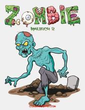 Zombie Malbuch 2