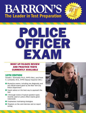 Barron s Police Officer Exam PDF