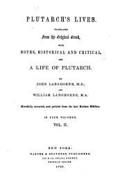 Plutarch's Lives: Volume 2