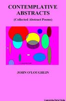 Contemplative Abstracts PDF