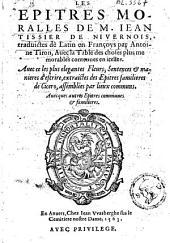 Les épitres moralles de Iean Tissier de Nivernois: traduictes de latin en françois