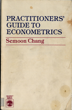 Practitioners  Guide to Econometrics PDF