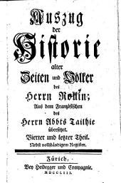 Auszug der Historie Alter Seiten und Volker des Herrn Rollin
