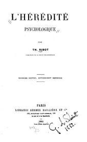 L'hérédité psychologique