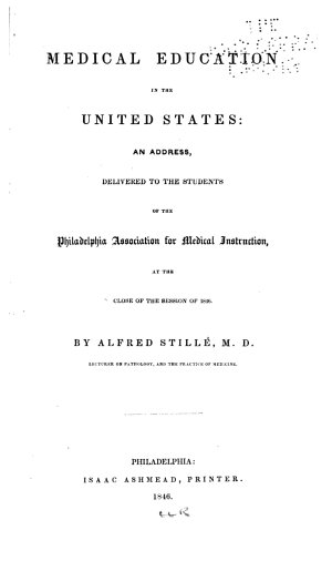 Medical Education in the United States