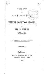 Florida Reports: Volume 5