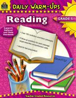 Reading  Grade 5 PDF