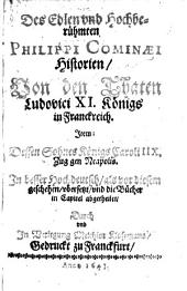 Historien von den Thaten Ludovici XI.