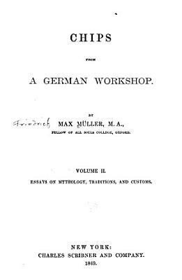 Essays on mythology  traditions and customs PDF