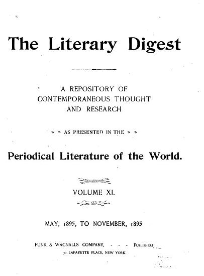 Literary Digest PDF