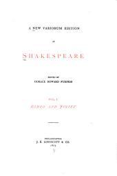 Romeo and Juliet: Volume 1