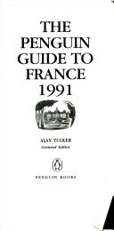 The Penguin Guide to France  1991 PDF
