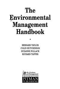 The Environmental Management Handbook PDF