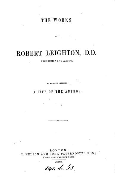 The works of Robert Leighton PDF