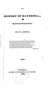 The History of Haverhill, Massachusetts