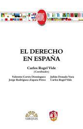 El derecho en España