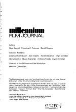 Millennium Film Journal