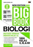New Edition Big Book Biologi SMA Kelas X XI   XII PDF