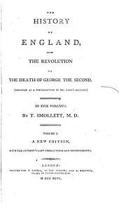 History of England, from the Revolution to the Death of George III.
