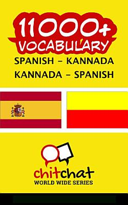11000  Spanish   Kannada Kannada   Spanish Vocabulary