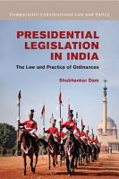 Presidential Legislation in India PDF
