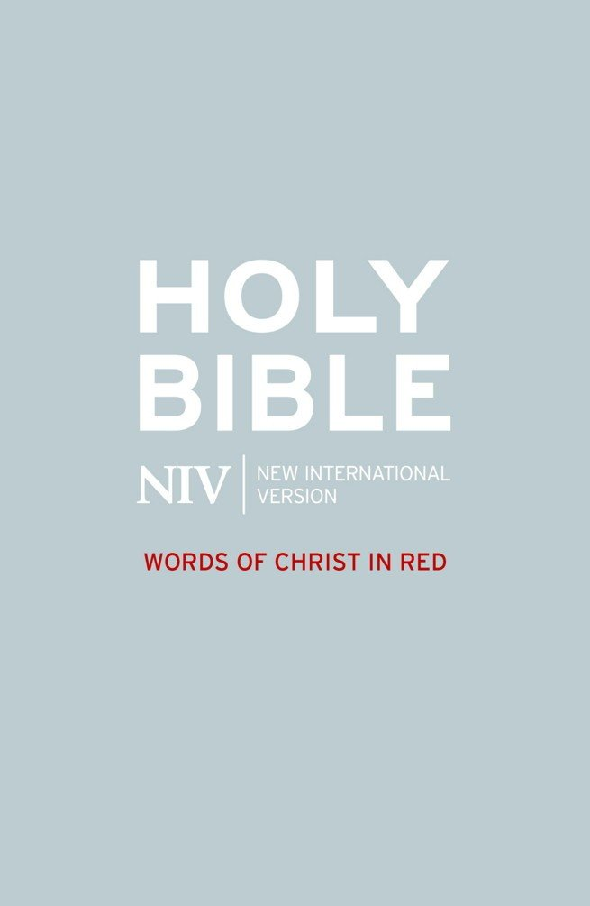 NIV Bible - Words of Christ in Red