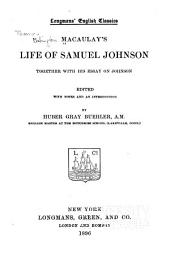 Macaulay's Life of Samuel Johnson