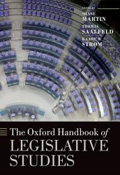 The Oxford Handbook of Legislative Studies PDF